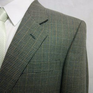 Jos A Bank 41R Suit Blazer Sports Coat Multi Color